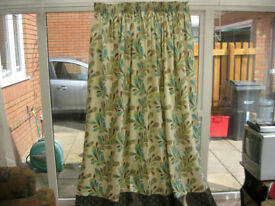 Pair of Fully Lined Curtains