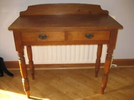 Pine Telephone table/washstand/dressing table