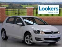 Volkswagen Golf MATCH TDI BLUEMOTION TECHNOLOGY DSG (white) 2015-09-01