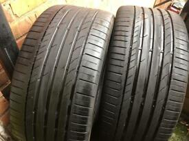 Continental 295/40zr21 111y extra load matching tyres 295 40 21 6'mm