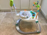 Fisher Price Carnival Collapsible Jumperoo in immaculate condition used twice