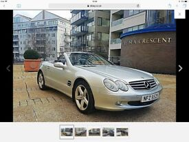 Mercedes SL 500 Roadster- Convertible 2003