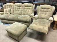 3 Seater Sofa and Recliner Chair (@07752751518)