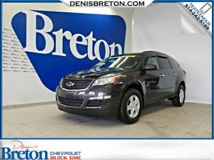 2015 CHEVROLET TRAVERSE LS 8 PASSAGERS BANCS CHAUFFANTS DEMARREU
