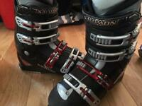 Salomon Performa ALU ski boots - size 27.0 uk 8 eu 42