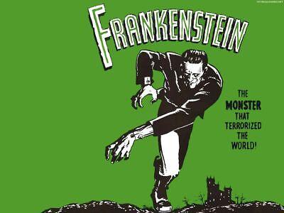 HALLOWEEN UNIVERSAL MONSTERS FRANKENSTEIN DECORATION FRIDGE MAGNET #2