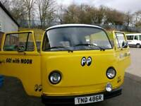 VW Bay Window Twin Slider campervan