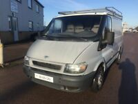 LEFT HAND DRIVE FORD TRANSIT VAN, DRIVES WELL,GOOD LOAD SPACE,ENGINE & MECHANICS,PAPERS SORTED.