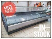 392cm Serve Over Counter Meat Display Fridge Butcher N4014/15 £4134+VAT OFELIA