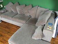 Next Corner Sofa - Grey