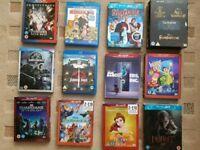Various 3D Blu-rays