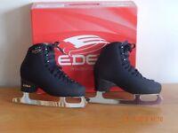 EDEA BLACK SKATES SIZE 260 (39 or 5.5 - 6)