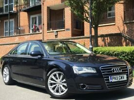 2011 AUDI A8 3.0 TDI EXECUTIVE TIPTRONIC QUATTRO 112K *VERY HIGH SPEC* IMMACULATE IN AND OUT