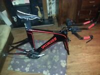 Specialized shiv frame and groupset