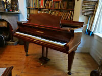 Bechstein model 'K' baby grand piano c.1937