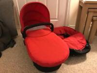 ICandy strawberry 2 pram/pushchair