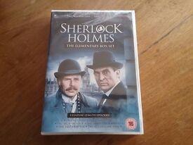 New & Sealed Sherlock Holmes The Elementary Box Set DVD's