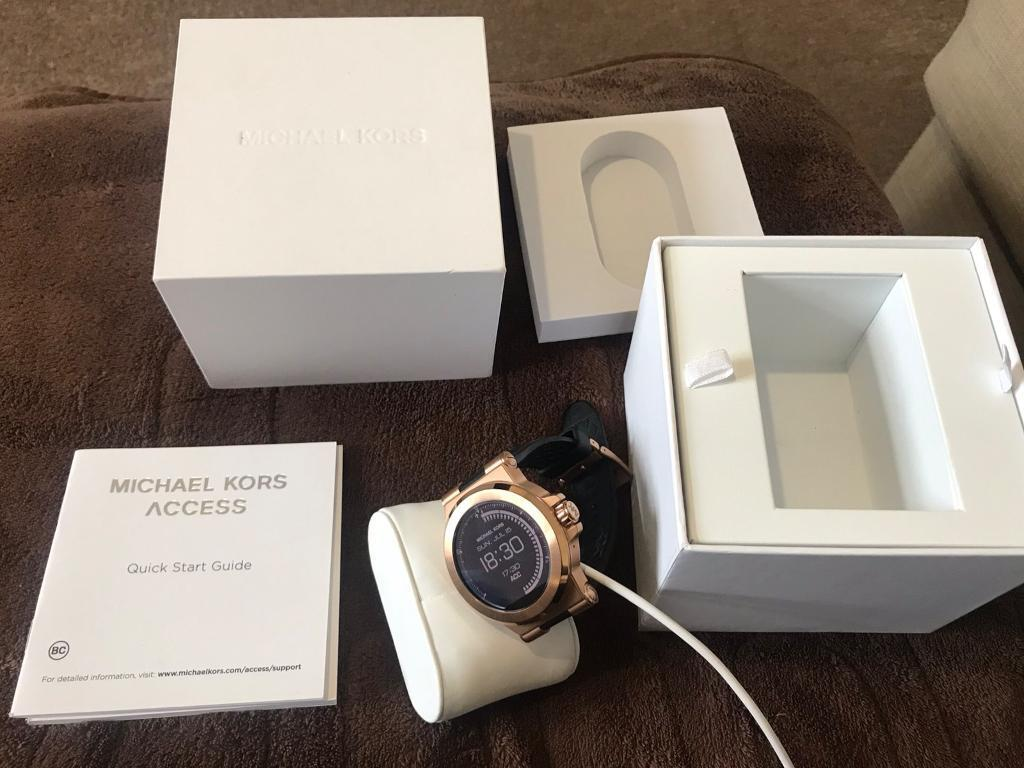 Mens Michael Kors Smart Watch For Androidapple Iphone In Rose Gold In Southampton Hampshire Gumtree