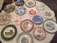 Group of Various plates