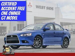 2015 Mitsubishi Lancer GT–Accident Free-$88/WEEK