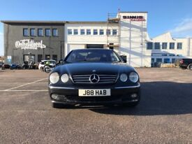 Mercedes-Benz CL 5.5 CL600 2dr£9,995 p/x welcome RARE 500BHP BI TURBO (52 reg), Coupe 109,000 miles