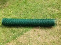 New Chicken Wire 50 m x 1.2 m with 5 cm holes, green, unused