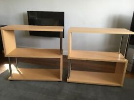 x2 Book Cases / Shelving Units