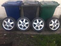 "Ford ka,escort,Fiesta,focus,puma sport 16"" wheels,£130,no offers"