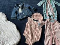 Bundle of Newborn / 0-3 months Clothes Sleeping Bag