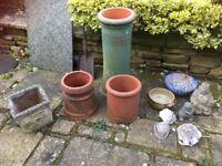 Selection Garden / Chimney pots for decoration Collect Coulsdon near Croydon CR5 off A23
