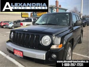 2007 Jeep Patriot Limited/leather/roof