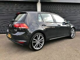 2014 VOLKSWAGEN GOLF 2.0 TDI 150 BLUEMOTION SE TECH NOT SEAT LEON FR AUDI A3 A4 BMW CIVIC FOCUS DS4