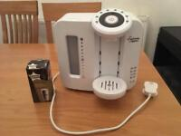 Tommee Tippee Closer to nature perfect prep machine + new filter + instructions