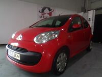 CITROEN C1 RYTHM IDEAL FIRST CAR RED 1.0 LITRE PETROL 5 DOOR HATCHBACK 2007