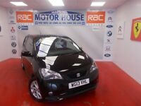 SEAT Mii SPORT(£20.00 ROAD TAX) FREE MOT'S AS LONG AS YOU OWN THE CAR!!! (black) 2013