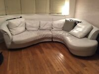 Leather corner sofa needs gone ASAP open to offers