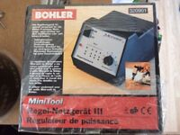 bohler mini tool regulator