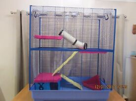 Pet Inn Alfi 2 double cage for small rodents