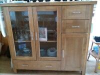 Living room / Dining room furniture - solid wood