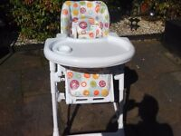 Dimples Highchair. Dimples Highchair, for sale.