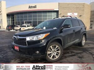 2016 Toyota Highlander AWD XLE Standard Package JKRFHT AM