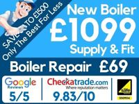 Worcester, Vaillant & BAXI Accredited Full Package Deal/Boiler Installation/Replacement/Swap/Repair