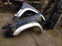 TOYOTA HILEX 98 PLATE WINGS + BACK BOOT PLUS MUCH MORE