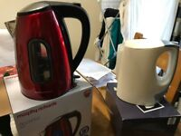 Selection of brand new kitchen items including toasters/kettles
