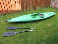 Kayak Green One Person