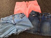 Girls skirts & Shorts 7-8 yrs *Next*