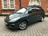 Toyota Previa 2.0 D-4D T Spirit 5dr (7 Seater)+Diesel+PX WELCOME++not zafira ford s max galaxy vw