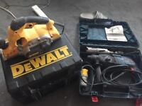 Dewalt and Bosch hammer drill