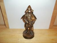 ANTIQUE SAMURAI WARRIOR BRONZE ,TABLE LIGHTER,LETTER OPENER,HEIGHT 20cms