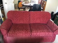 Vintage Marks and Spencers Two seater Sofa Bed Pull Out